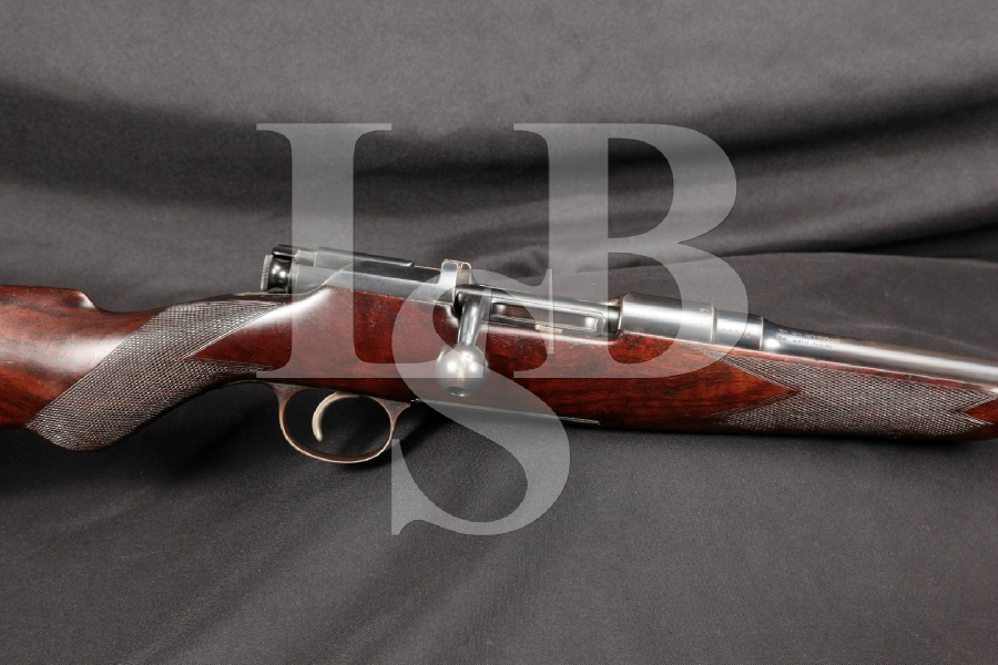"Custom Belgian & British Proof Steyr Model M1900 25"" Bolt Action Sporting Rifle, MFD Early 1900s C&R"