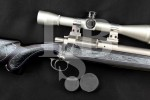 "Custom Hall Mfg. Co. Model Bench Rest Rifle & Leupold 36X Scope, Stainless Steel 26"" Single Shot Bolt Action Rifle MFD 1984"