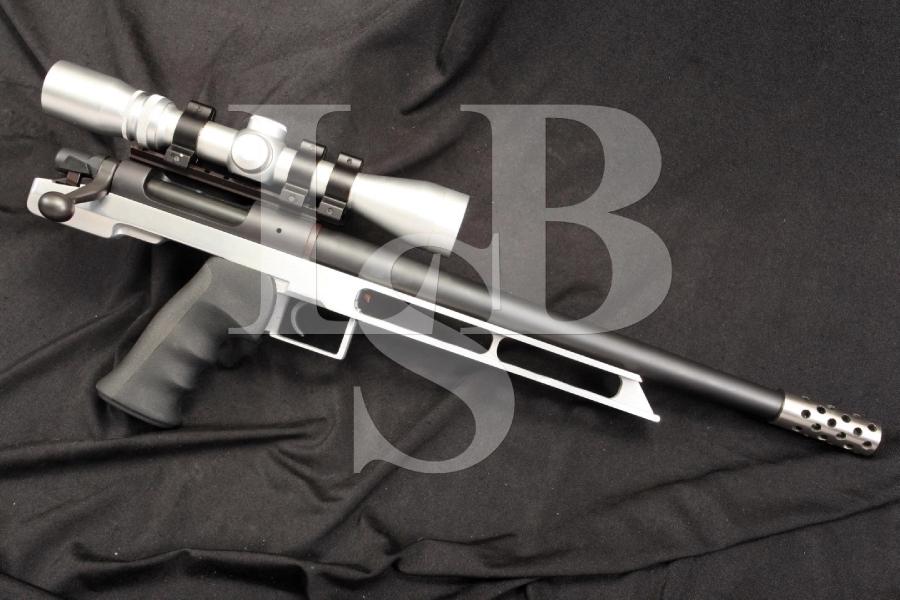 Custom Remington Model XP-100 .458 X 2' American Bolt Action Single Shot Pistol