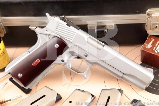 Devel Corporation Custom Series '70 MKIV Colt 1911 SUPER RARE Hard Chrome Government Model .45 ACP