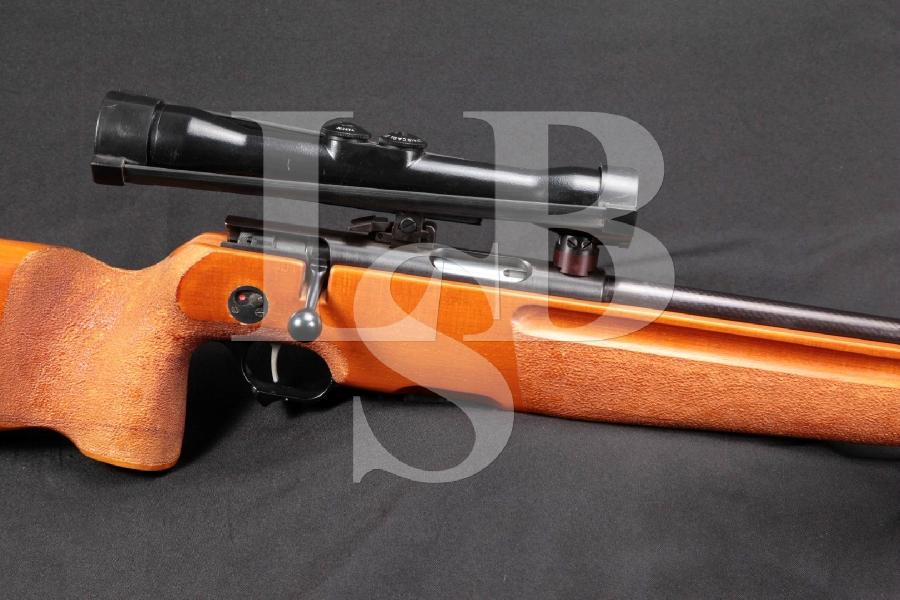 """East German SSG 82 Scharfschützengewehr Sharpshooter's Rifle, Blue 23.5"""" Bolt Action Rifle & Zeiss Scope, Mfd Ca. 1982"""