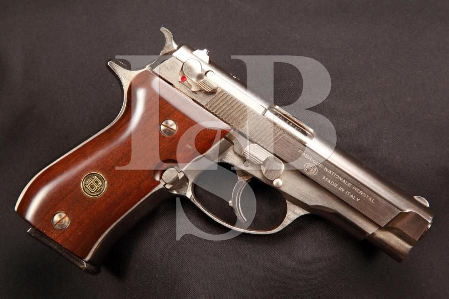 FN Italian MFD Browning BDA 3 13/16 INCH DA/SA Semi-Automatic Pistol