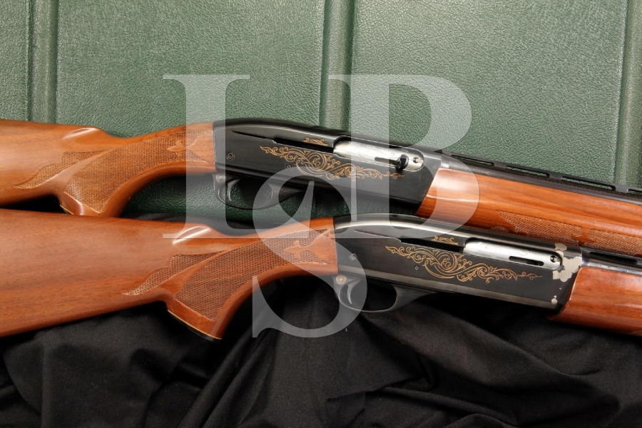 Factory Matched Pair Remington Model 1100 Skeet Shotguns .410 Bore & 28 Gauge Ga.