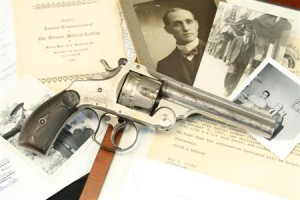 Documented Firearms Used As Payment For Medical Services Rendered by Tillman McLaughlin, M.D.