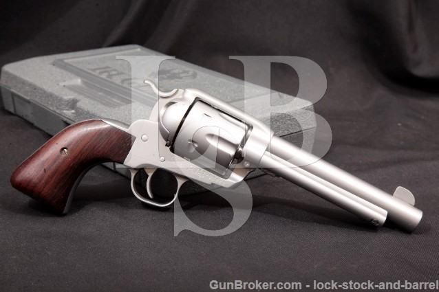 "Gary Reeder Custom Ruger Old Model .45 Colt Ultimate Vaquero Shooters Package 5.5"" SA Revolver"