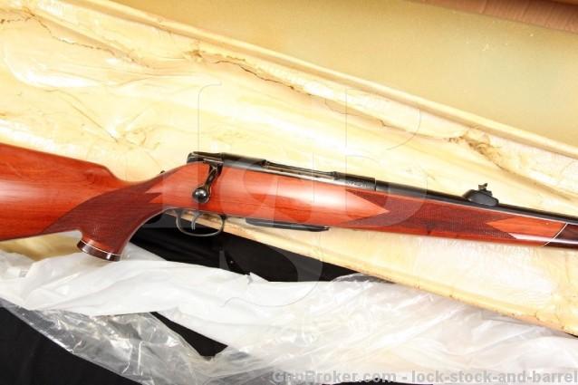 German Colt Sauer Grand African .458 Winchester Magnum Bolt Action Rifle - Box & More - Excellent