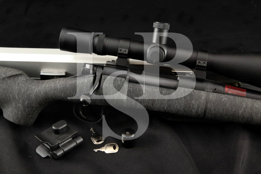 "H-S Precision Model Pro-Series 2000 Long Action, 23 ½"" Bolt Action Takedown Rifle, Case & Leupold Scope"