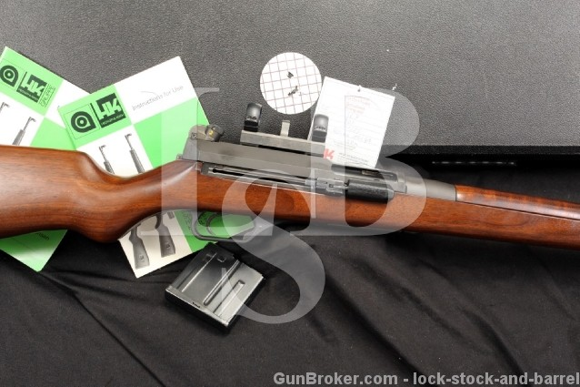 H&K Heckler & Koch HK-SL7 .308 Winchester Carbine Semi Automatic Rifle w/ Mounts, Rings, Mag & Case