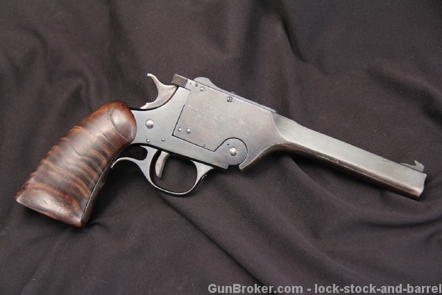 Rare H&R, Harrington & Richardson USRA, U.S.R.A. Single Shot Cal. .22 LR Target Pistol - C&R