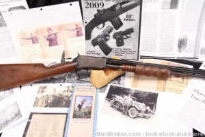 A. H. Hardy's Winchester Model 1890 Exhibition Rifle .22 LR, One of The Last 1890's - 1941 C&R Ok