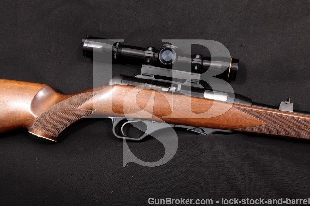 "Heckler & Koch H&K HK 300 Magnum .22 WMR 19.5"" Semi-Automatic Rifle & Leupold 4x Scope, MFD 1981"