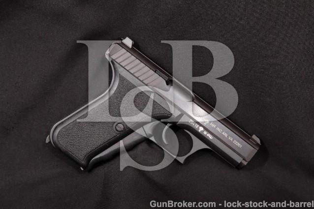 "Heckler & Koch HK H&K P7 Squeeze Cock Heel Release Blue 4"" Semi-Automatic Pistol, MFD 1981 9mm Para"