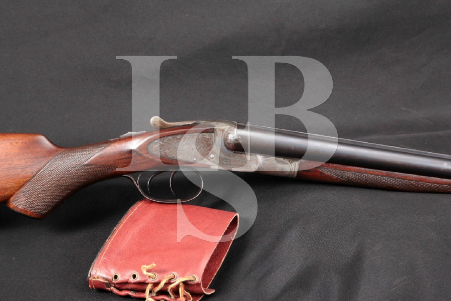 "Hunter Arms Co. Model L. C. Smith Ideal Grade Sidelock, 30"" Double Barrel Shotgun, MFD 1925 C&R"