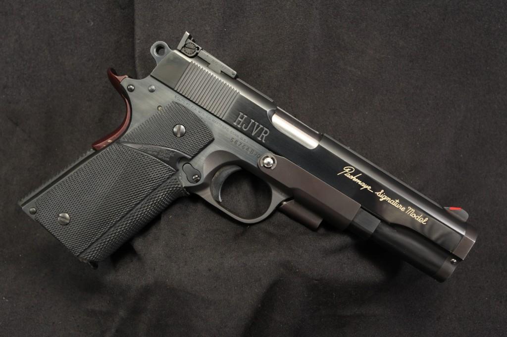 Pachmayr Signature Model Custom Accurized .45 ACP Semi Auto Pistol (1911)