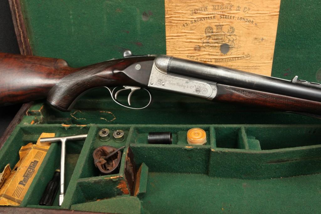John Rigby Class C .470 Nitro Express SxS Double Rifle