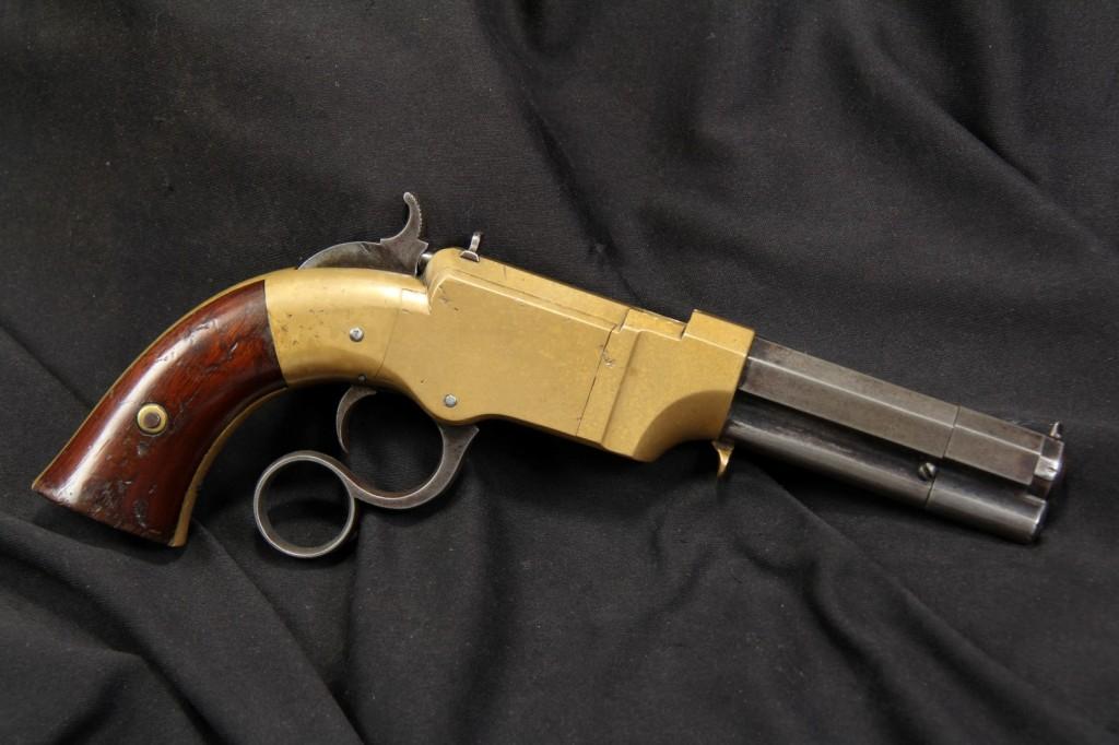 """3 1/2"""" Volcanic .31 Caliber Vest Pocket Lever Action Pistol"""