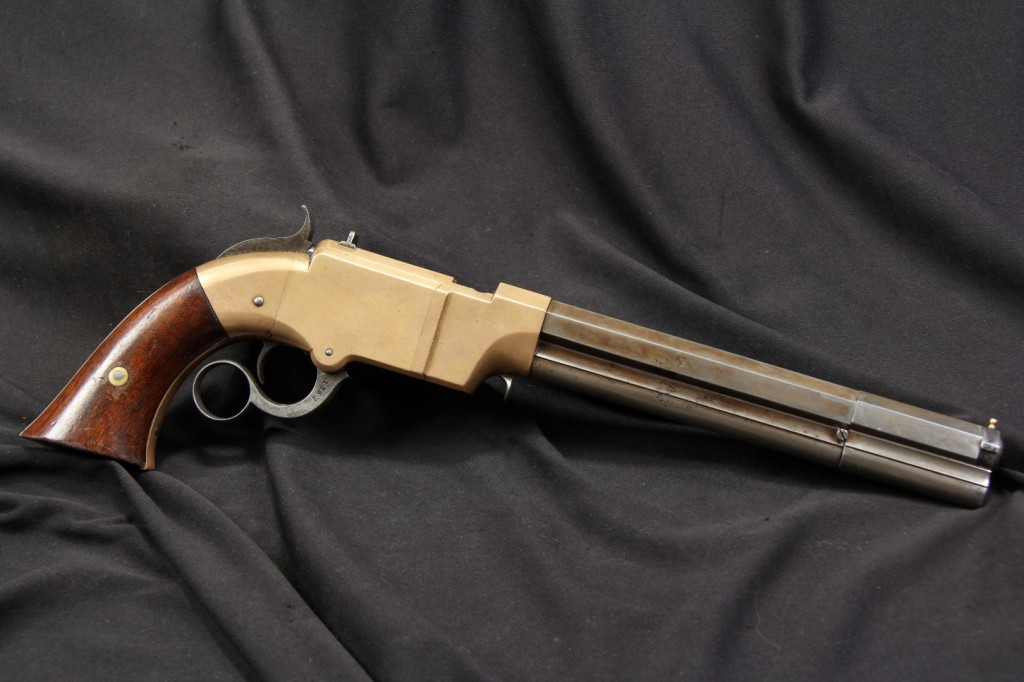 "8"" New Haven Arms .41 Caliber Volcanic Lever Action Pistol"