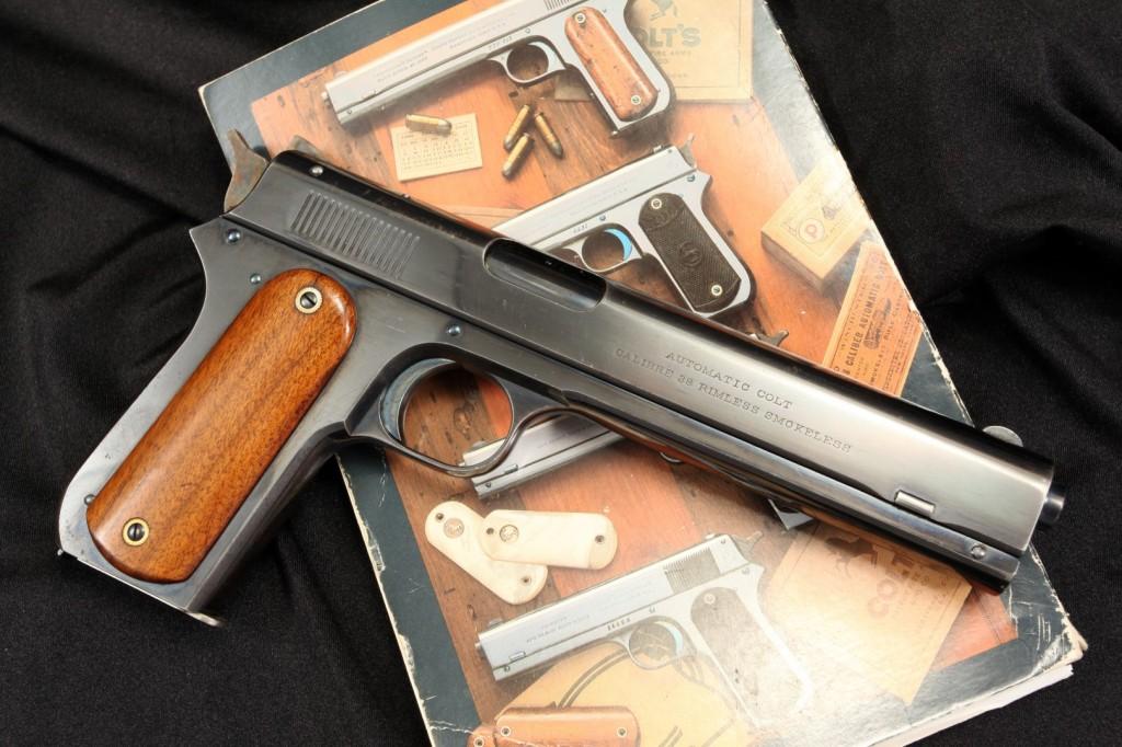 Mint Colt Model 1900 Sight Safety .38 Auto Pistol