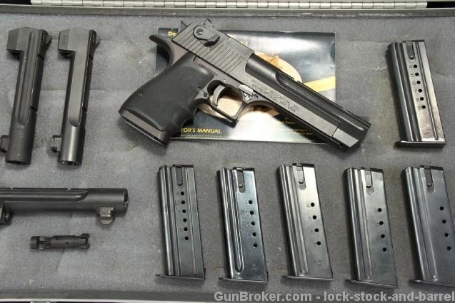 Cased Magnum Research Mark XIX Desert Eagle 4 Caliber Component System .44 Magnum, .357 Magnum, .440 Cor-bon & .50 AE
