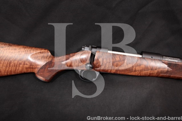 "Kimber 8400 Classic Ducks Unlimited 75th Anniv. Blue 26"" Bolt Action Rifle, MFD 2012 .300 Win. Mag"