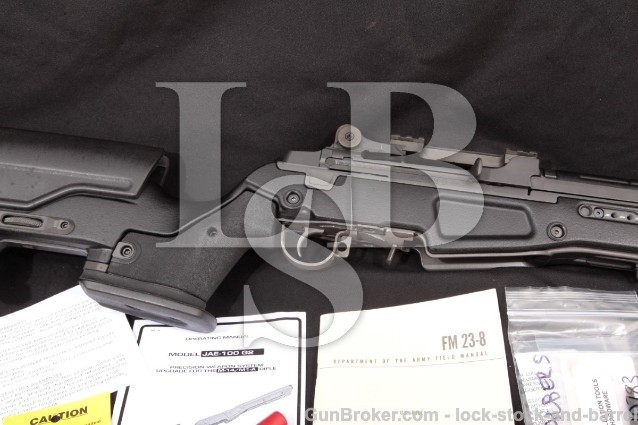 "LRB Arms M25 Tanker M14, M1A, Parkerized 7.62 NATO 18 1/2"" Semi-Auto Rifle JAE-100 G2 & More! 2011"