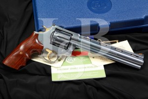 Legacy Edition 1 of 1000 Colt Anaconda 8 IN. Black Pearl Titanium Revolver & Box