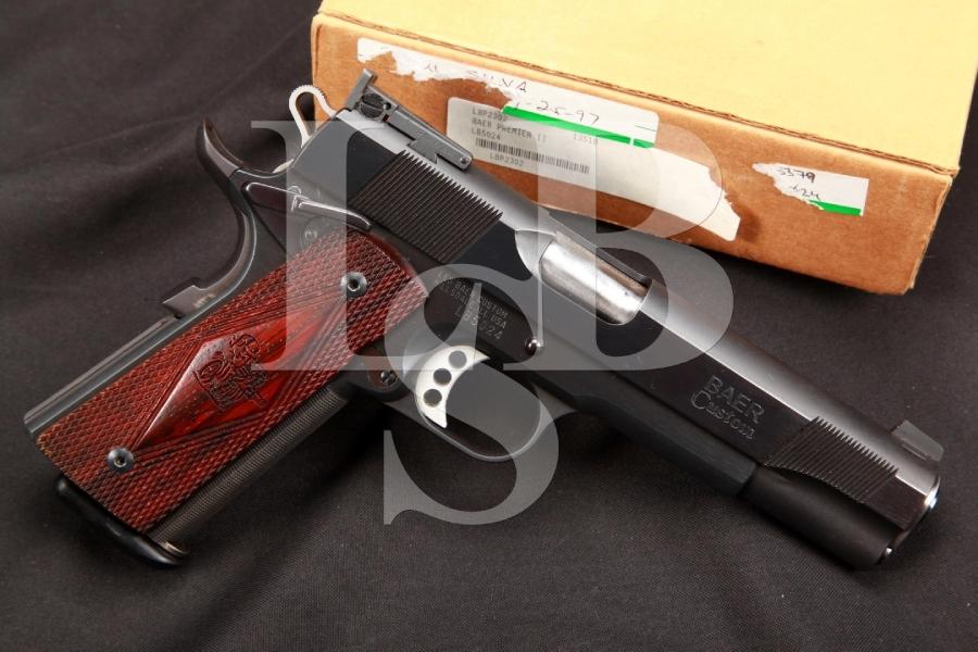 Les Baer Custom Premier II 1911 Competition Ready .45 ACP Semi-Automatic Match Pistol & Box