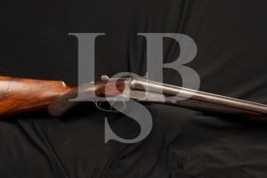 Lindner Charles Daly 12 Gauge Ga. SxS Side by Side Shotgun, Diamond Quality, Serial Number 307, Antique