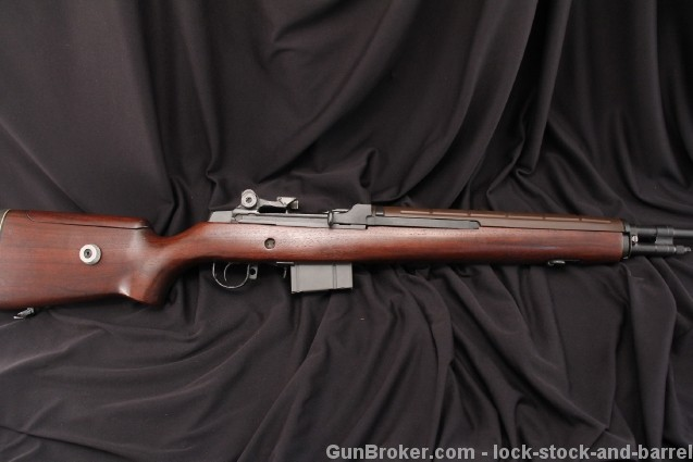 Glen Nelson Springfield M21, M-21 .308 Winchester        M1A Bedded National Match Semi Auto Target Rifle