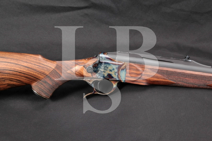 "MINT Luxus Arms Model 11, Break-Open / Takedown, Matte Blue & Case Colored 26"" .45/70 Gov't Single Shot Rifle"