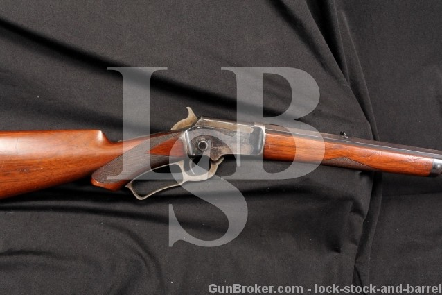 Marlin Model 1891 Deluxe ½ Round .22 Caliber Lever Action Takedown Rifle - MF'D 1895 Antique