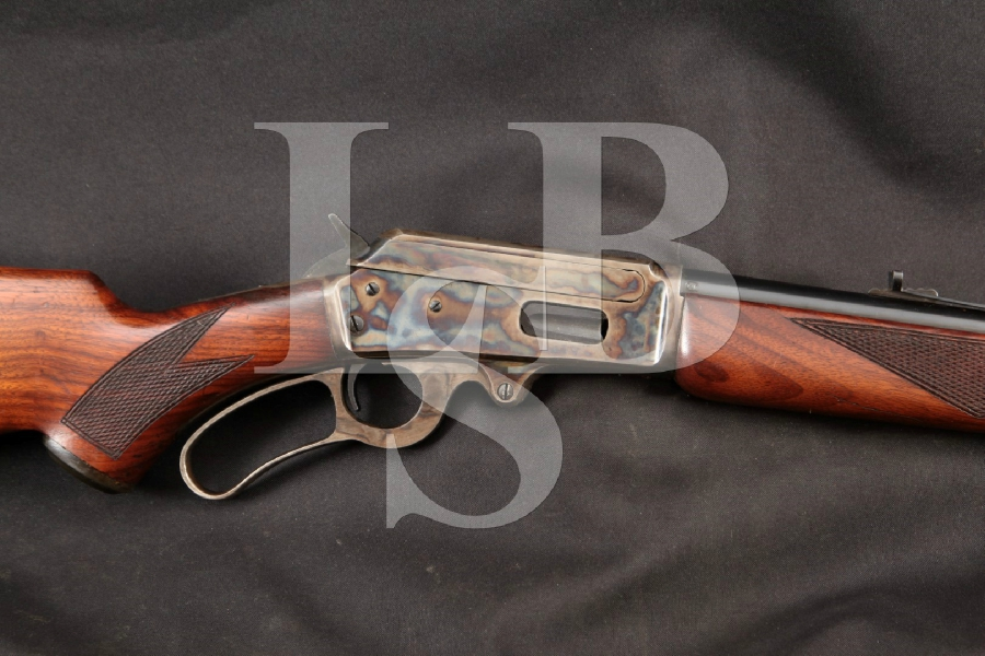 Marlin Model 1936 Marked (Mod 36A ADL Stock) .32 Special Cartridge Blue / Case Colored 24 Lever Action 1/2 Mag Rifle, MFD 1941-1945 Post War