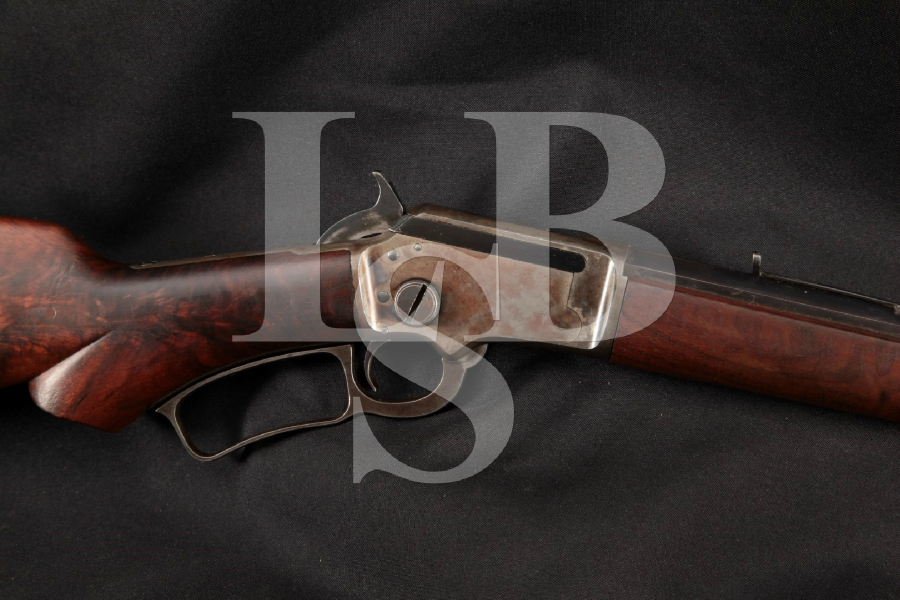 Marlin Model 39 M39, Early Pre-WWII S-Prefix, Blue & Case Colored Octagonal 24 Lever Action Takedown Rifle, MFD 1922-1936 C&R