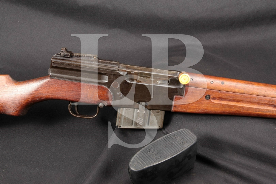 "Matching French MAS MLE 1944 Parkerized 23"" Semi Automatic Import Rifle, MFD 1944-1948 C&R"
