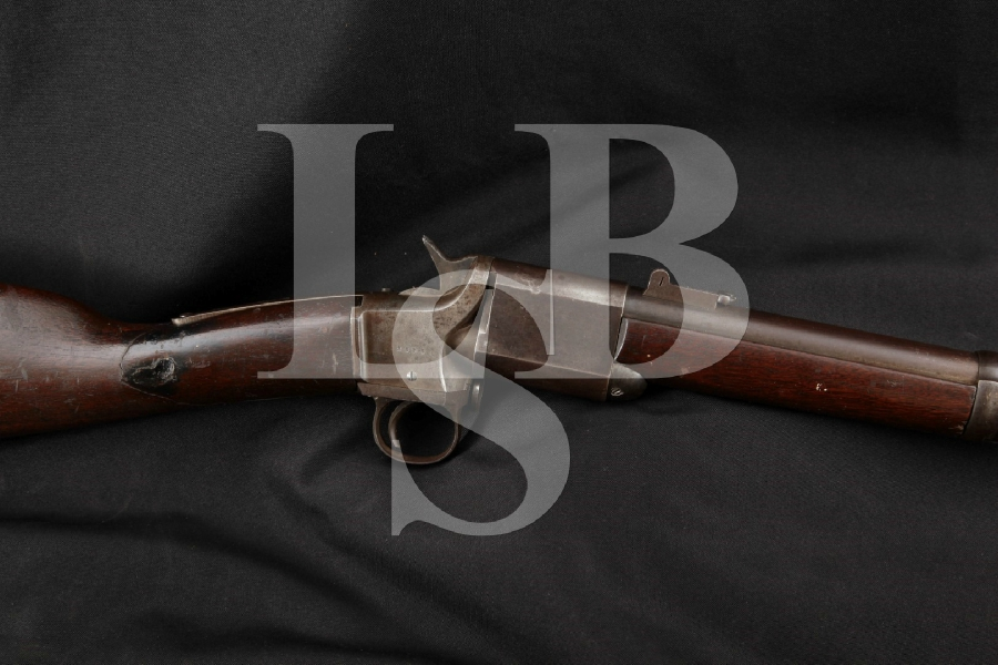 "Meriden Mfg. Co. Kentucky Model Triplett & Scott Repeating Carbine, Blue/Case 22"" Twist Action Repeater, MFD 1864-1865 Antique"