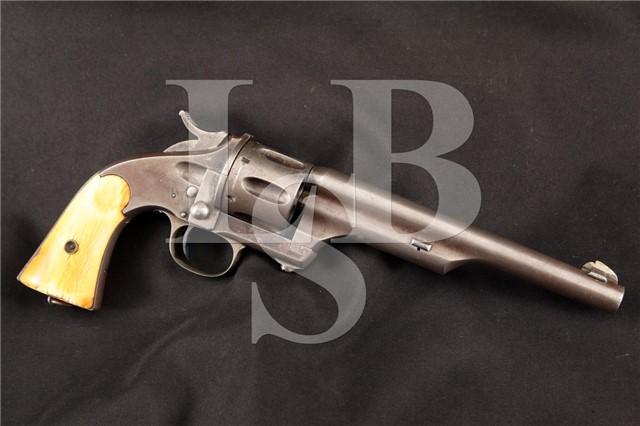 Merwin Hulbert 1st Model 44 Single Action Revolver Made by Hopkins & Allen Ca. 1870's - ANTIQUE