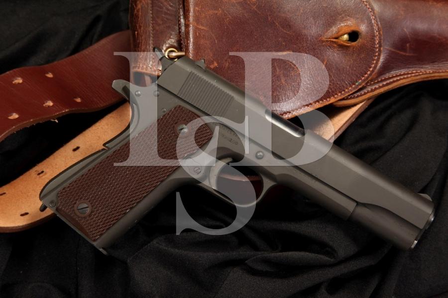 Mint Colt Model 1911A1 1911-A1 .45 ACP Semi Auto Pistol, MFD March 1943 WWII - C&R OK