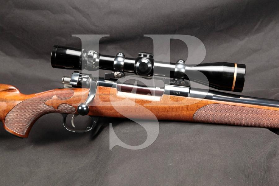 "NICE FN Belgian South Gate Pre-Mark MK V Weatherby Mauser Bolt Action Blue 26"" Hunting Rifle & Leupold Scope, MFD Pre 1963 C&R"