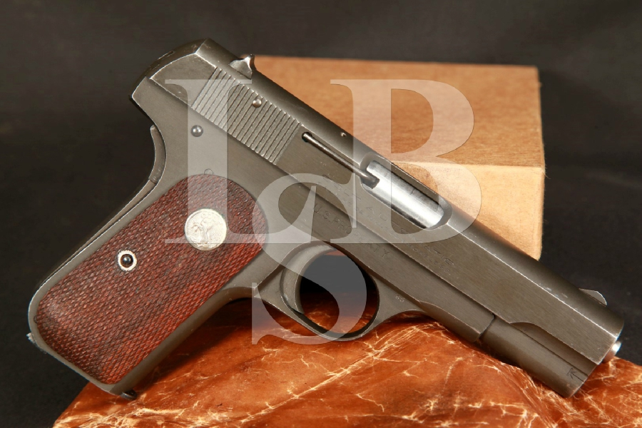 NICE U.S. Property Colt Model 1903 .32 ACP SA Semi-Automatic Pistol & Box MFD 1944, C&R OK