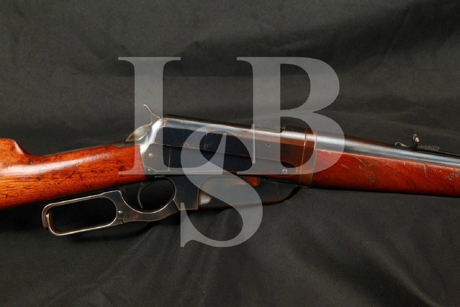 "NICE Winchester Model 1895 Takedown Blue 28"" Lever Action Rifle, MFD 1913 C&R"