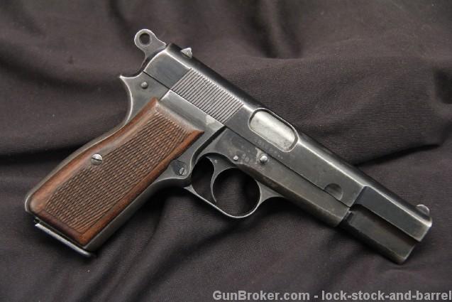 Nazi Marked FN Belgian Browning Hi-Power C&R OK