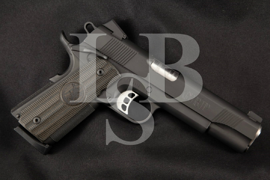 "Nighthawk Custom Model GRP Global Response Pistol, Sharp Black Nitride 5"" SA Semi-Automatic Match Grade Pistol, MFD 2006"