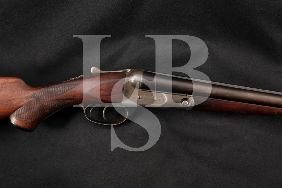 "Parker Bros. Grade 1 VH Hammerless Vulcan Steel, Blue & Case Colored 30"" Side by Side SxS Dual Trigger Shotgun MFD 1922 C&R"