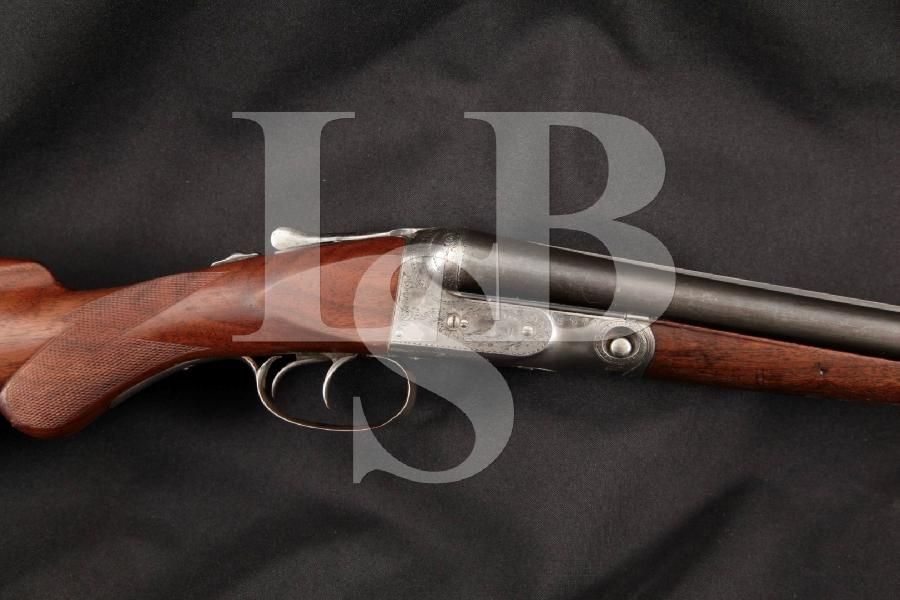 Parker Bros. Grade 2 Hammerless Special Steel Ejector Model, Blue & Case Colored 30 Side by Side, Dual Trigger Shotgun, MFD 1910 C&R