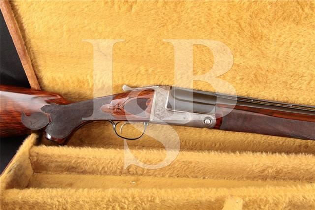 Parker Bros. Single Barrel Trap Gun Grade SC 12 Ga 34 Single Shot Ejector Shotgun & Case, 1917 C&R