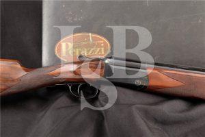 "Perazzi Model MX3, Blue 26"" 12 Ga O/U Over Under Double Barrel Fixed Choke Shotgun & Case, MFD 1983"
