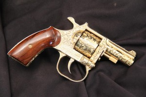 Serial Number 1 Clerke Double Action Revolver Consigned at LSB