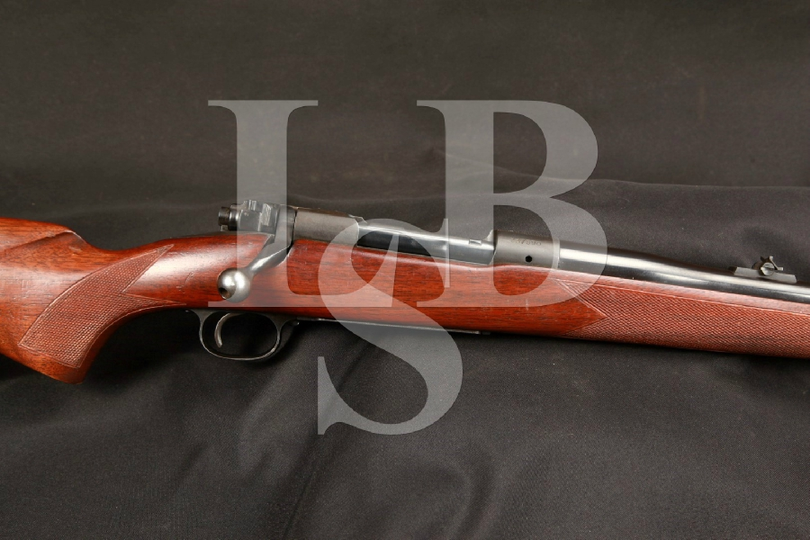 Pre 64 Winchester Model 70 .375 Holland & Holland H&H Mag. Magnum Bolt Action Rifle MFD 1955, C&R