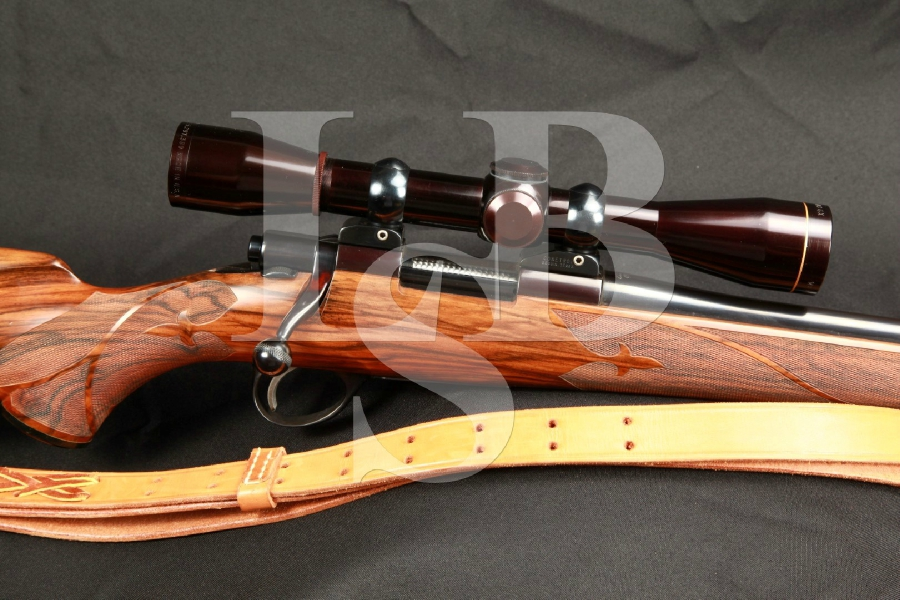 Pre Garcia Pachmayr Custom Sako Vixen Sporter L461 Bolt Action Varmint Rifle, Sling & Leupold Scope