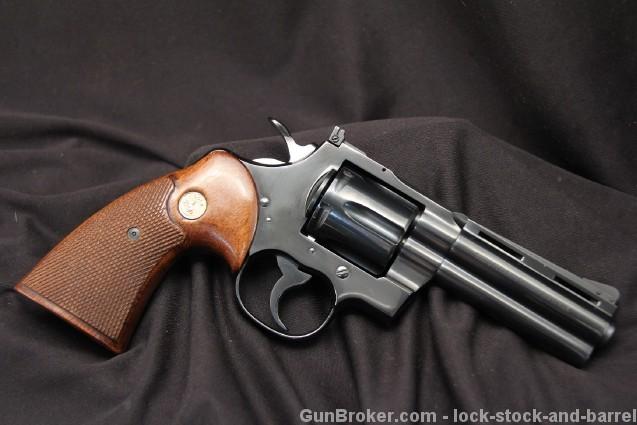"1966 4"" Colt Python .357 Magnum Double Action Revolver - Sold For $3,300"